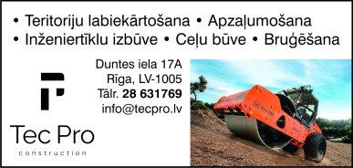 """""""SMART Construction"""", SIA reklāma Rīgas domes amatpersonu un politiķu kontaktinformācijas katalogā"""