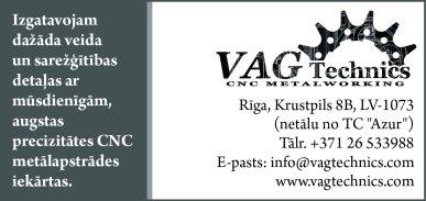 """""""VAG Technics"""", SIA reklāma Latvijas pašvaldību amatpersonu un politiķu kontaktinformācijas katalogā"""