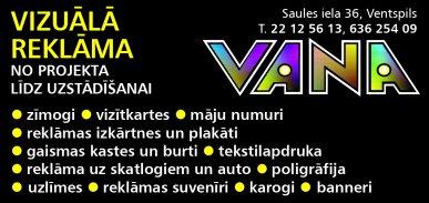 """""""Vana"""", SIA reklāma Rīgas domes amatpersonu un politiķu kontaktinformācijas katalogā"""