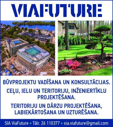 """""""ViaFuture"""", SIA reklāma Rīgas domes amatpersonu un politiķu kontaktinformācijas katalogā"""