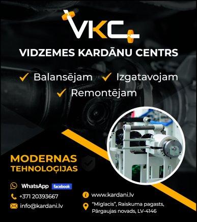 """""""Vidzemes kardānu centrs"""", SIA reklāma Latvijas pašvaldību amatpersonu un politiķu kontaktinformācijas katalogā"""
