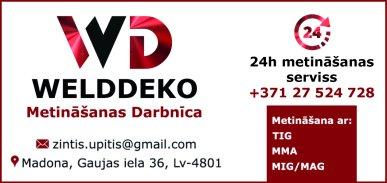 """""""WeldDeko"""", SIA reklāma Latvijas pašvaldību amatpersonu un politiķu kontaktinformācijas katalogā"""