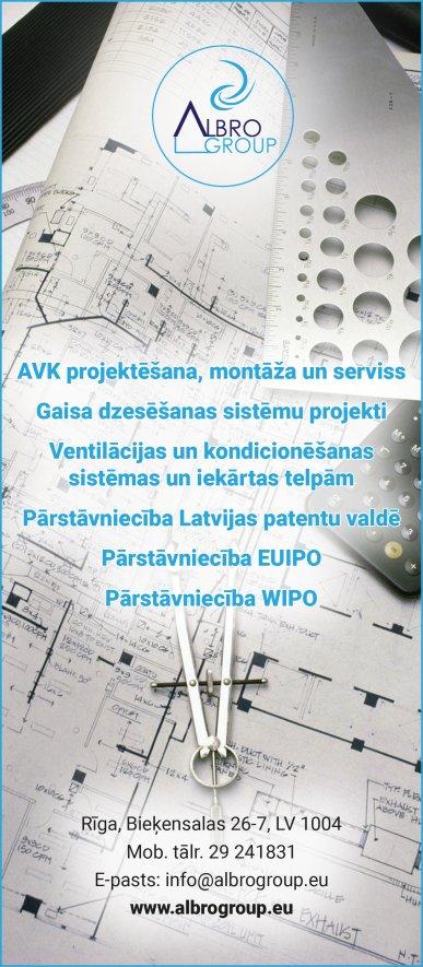 """""""Albro Group"""", SIA reklāma Rīgas domes amatpersonu un politiķu kontaktinformācijas katalogā"""
