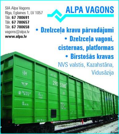 """""""Alpa Vagons"""", SIA reklāma Rīgas domes amatpersonu un politiķu kontaktinformācijas katalogā"""