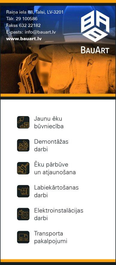 """""""BauArt"""", SIA reklāma Rīgas domes amatpersonu un politiķu kontaktinformācijas katalogā"""
