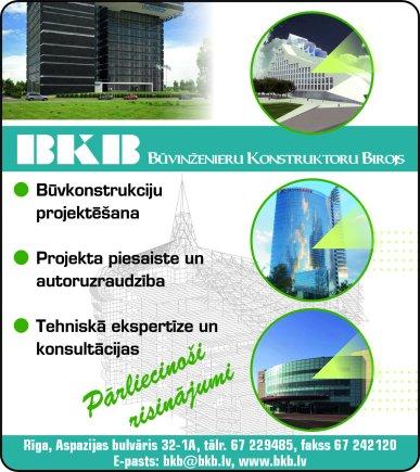 """""""Būvinženieru konstruktoru birojs"""", SIA reklāma Rīgas domes amatpersonu un politiķu kontaktinformācijas katalogā"""