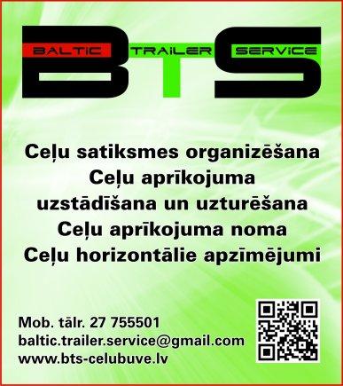 """""""Baltic Trailer Service"""", SIA reklāma Rīgas domes amatpersonu un politiķu kontaktinformācijas katalogā"""