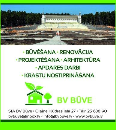 """""""BV Būve"""", SIA reklāma Rīgas domes amatpersonu un politiķu kontaktinformācijas katalogā"""