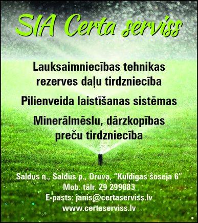 """""""Certa serviss"""", SIA reklāma Rīgas domes amatpersonu un politiķu kontaktinformācijas katalogā"""