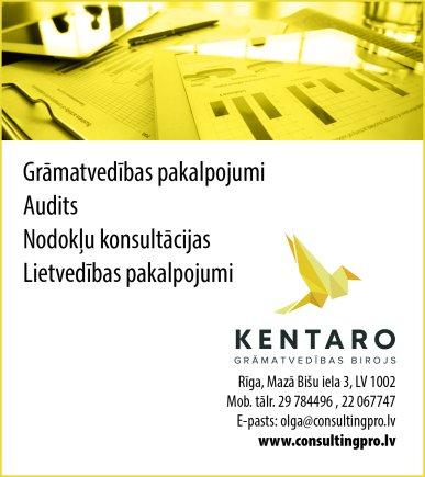 """""""Kentaro"""", SIA reklāma Rīgas domes amatpersonu un politiķu kontaktinformācijas katalogā"""