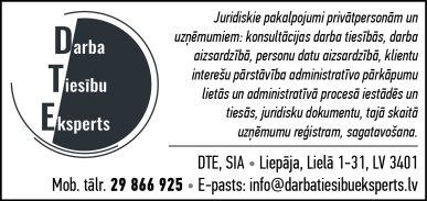 """""""DTE"""", SIA reklāma Rīgas domes amatpersonu un politiķu kontaktinformācijas katalogā"""