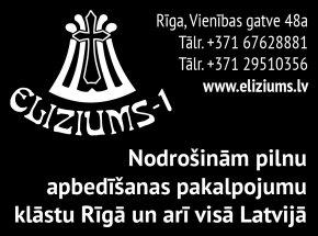 """""""Eliziums-1"""", SIA reklāma Rīgas domes amatpersonu un politiķu kontaktinformācijas katalogā"""
