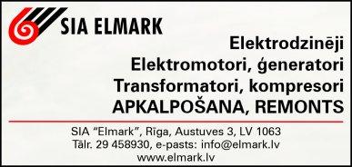 """""""Elmark"""", SIA reklāma Rīgas domes amatpersonu un politiķu kontaktinformācijas katalogā"""