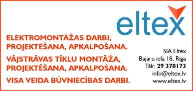 """""""Eltex"""", SIA reklāma Rīgas domes amatpersonu un politiķu kontaktinformācijas katalogā"""