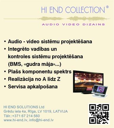 """""""Hi End Solutions"""", SIA, Veikals reklāma Latvijas pašvaldību amatpersonu un politiķu kontaktinformācijas katalogā"""