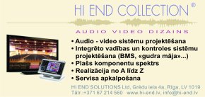 """""""Hi End Solutions"""", SIA, Veikals reklāma Rīgas domes amatpersonu un politiķu kontaktinformācijas katalogā"""