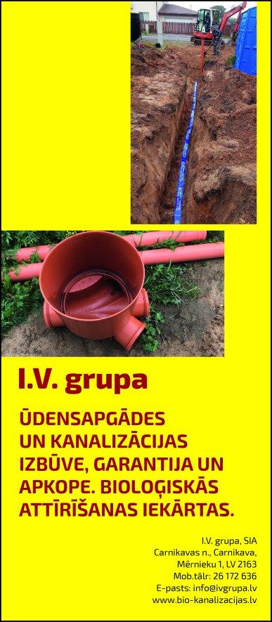 """""""I.V. Grupa"""", SIA reklāma Rīgas domes amatpersonu un politiķu kontaktinformācijas katalogā"""
