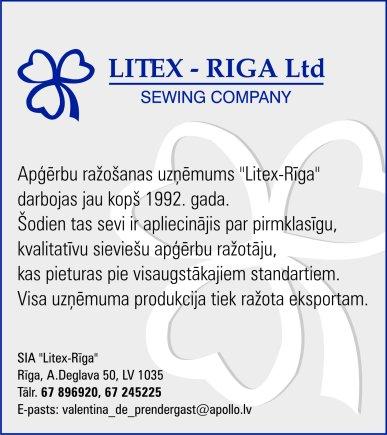 """""""Litex-Riga"""", SIA reklāma Rīgas domes amatpersonu un politiķu kontaktinformācijas katalogā"""