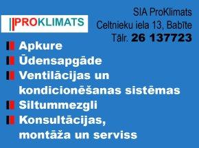 """""""ProKlimats"""", SIA reklāma Rīgas domes amatpersonu un politiķu kontaktinformācijas katalogā"""