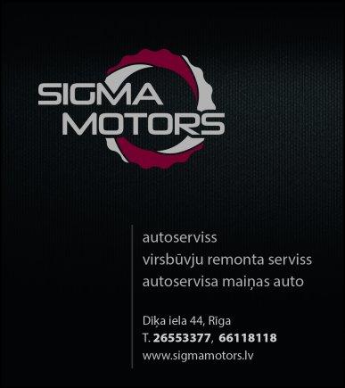 """""""Sigma Motors"""", SIA reklāma Latvijas pašvaldību amatpersonu un politiķu kontaktinformācijas katalogā"""