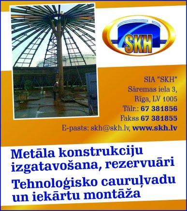 """""""SKH"""", SIA reklāma Rīgas domes amatpersonu un politiķu kontaktinformācijas katalogā"""