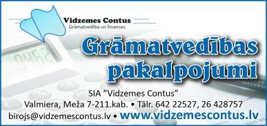"""""""Vidzemes Contus"""", SIA reklāma Rīgas domes amatpersonu un politiķu kontaktinformācijas katalogā"""