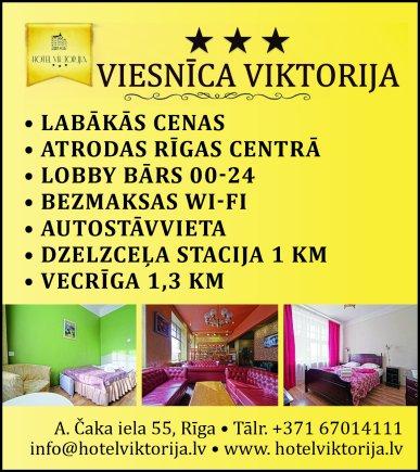 """""""Viktorija International"""", SIA reklāma Latvijas pašvaldību amatpersonu un politiķu kontaktinformācijas katalogā"""
