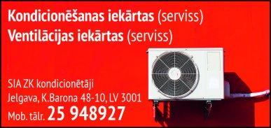 """""""ZK kondicionētāji"""", SIA reklāma Rīgas domes amatpersonu un politiķu kontaktinformācijas katalogā"""