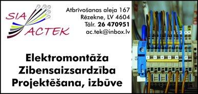 """""""Actek"""", SIA reklāma Rīgas domes amatpersonu un politiķu kontaktinformācijas katalogā"""
