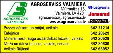 """""""Agroserviss Valmiera"""", SIA reklāma Rīgas domes amatpersonu un politiķu kontaktinformācijas katalogā"""