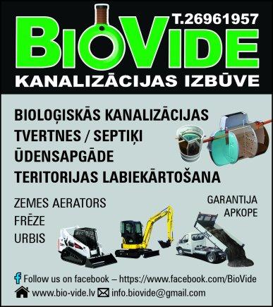 """""""BioVide"""", SIA reklāma Rīgas domes amatpersonu un politiķu kontaktinformācijas katalogā"""