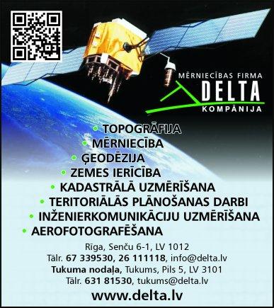 """""""Delta Kompānija"""", SIA reklāma Rīgas domes amatpersonu un politiķu kontaktinformācijas katalogā"""