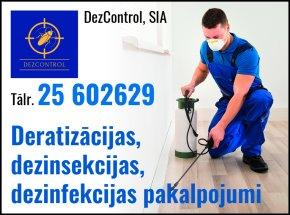 """""""DezControl"""", SIA reklāma Rīgas domes amatpersonu un politiķu kontaktinformācijas katalogā"""
