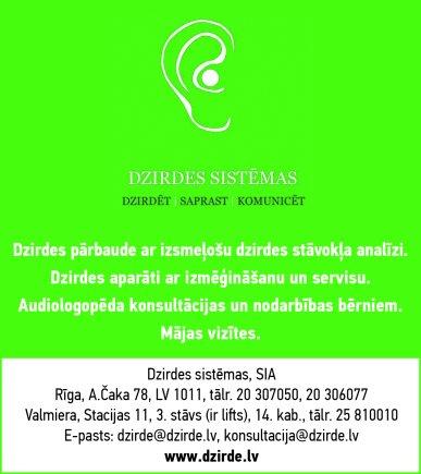 """""""Dzirdes sistēmas"""", SIA reklāma Rīgas domes amatpersonu un politiķu kontaktinformācijas katalogā"""