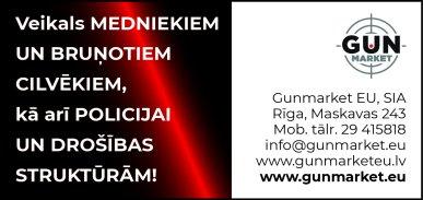 """""""Gunmarket EU"""", SIA reklāma Rīgas domes amatpersonu un politiķu kontaktinformācijas katalogā"""