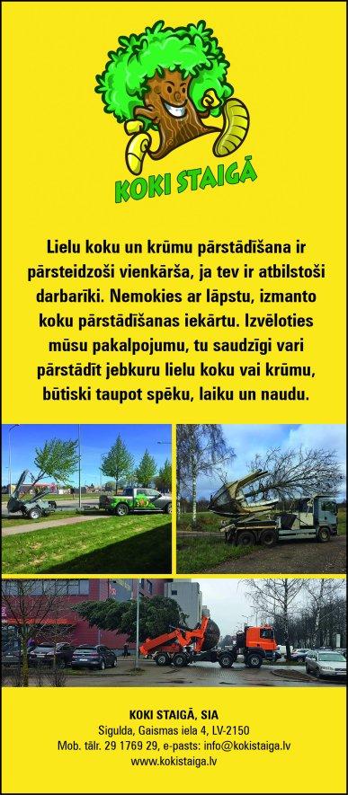"""""""KOKI STAIGĀ"""", SIA reklāma Rīgas domes amatpersonu un politiķu kontaktinformācijas katalogā"""