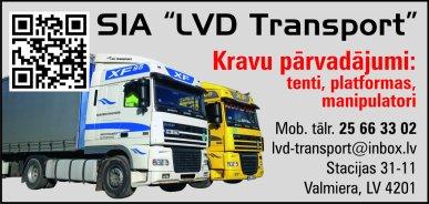 """""""LVD Transport"""", SIA reklāma Rīgas domes amatpersonu un politiķu kontaktinformācijas katalogā"""