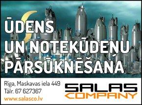 """""""Salas Company"""", SIA reklāma Rīgas domes amatpersonu un politiķu kontaktinformācijas katalogā"""