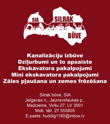 """""""Silrak būve"""", SIA reklāma Rīgas domes amatpersonu un politiķu kontaktinformācijas katalogā"""