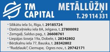 """""""TM Capital"""", SIA reklāma Rīgas domes amatpersonu un politiķu kontaktinformācijas katalogā"""