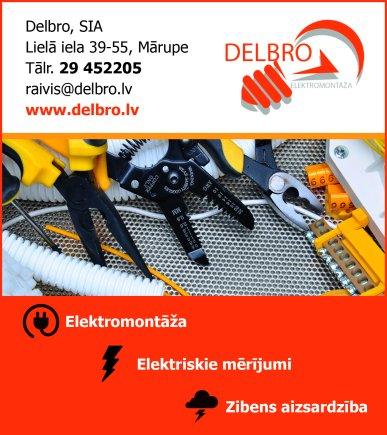 """""""Delbro"""", SIA reklāma Rīgas domes amatpersonu un politiķu kontaktinformācijas katalogā"""