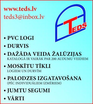 """""""TEDS"""", SIA reklāma Latvijas pašvaldību amatpersonu un politiķu kontaktinformācijas katalogā"""