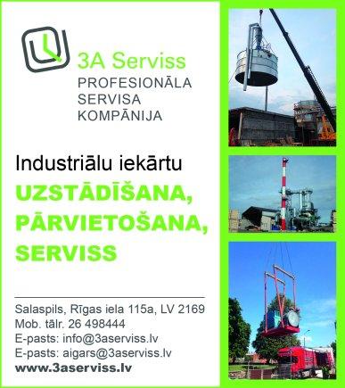 """""""3A Serviss"""", SIA reklāma Saeimas un Valdības amatpersonu un politiķu kontaktinformācijas katalogā"""