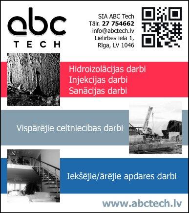 """""""ABC Tech"""", SIA reklāma Saeimas un Valdības amatpersonu un politiķu kontaktinformācijas katalogā"""