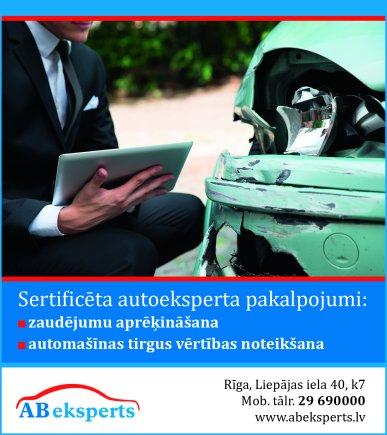 """""""AB eksperts"""", SIA reklāma Saeimas un Valdības amatpersonu un politiķu kontaktinformācijas katalogā"""