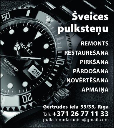 """""""AB.watches"""", SIA reklāma Saeimas un Valdības amatpersonu un politiķu kontaktinformācijas katalogā"""