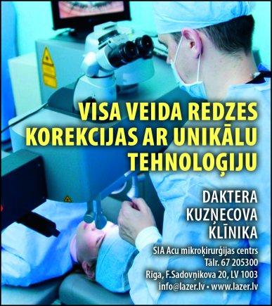 """""""Acu mikroķirurģijas centrs"""", SIA reklāma Saeimas un Valdības amatpersonu un politiķu kontaktinformācijas katalogā"""
