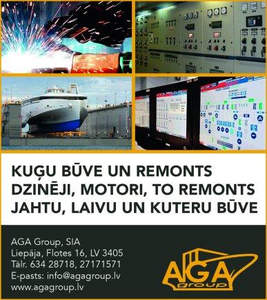 """""""AGA Group"""", SIA reklāma Saeimas un Valdības amatpersonu un politiķu kontaktinformācijas katalogā"""