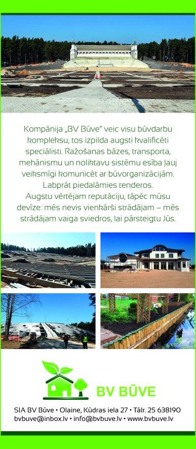 """""""BV Būve"""", SIA reklāma Saeimas un Valdības amatpersonu un politiķu kontaktinformācijas katalogā"""