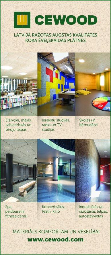 """""""Cewood"""", SIA reklāma Saeimas un Valdības amatpersonu un politiķu kontaktinformācijas katalogā"""
